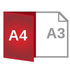 A3 fold A4