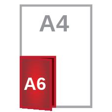 A5 fold A6
