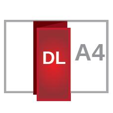 A4 z fold DL