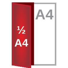 A4 fold ½A4