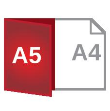 A4 fold A5