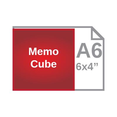 Memo cube size